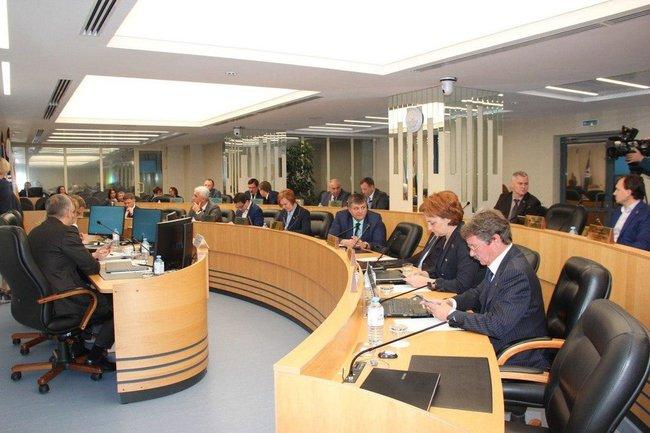 Заседание городской думы Сургута