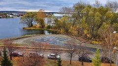 В Челябинской области появилась новая вертолетная площадка