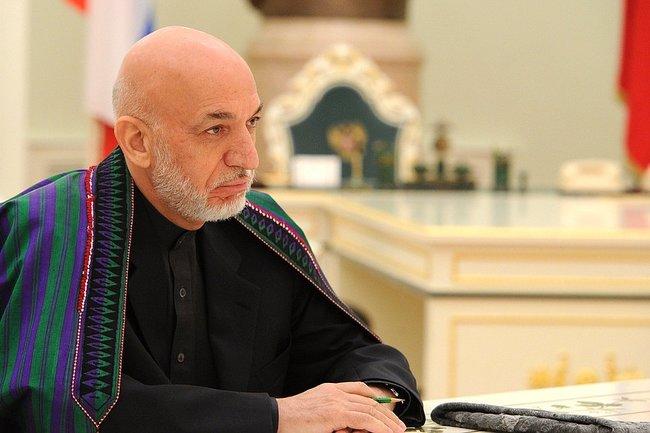 Карзай обвинил США в дестабилизирующей роли в Афганистане