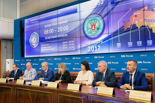 ЦИК РФ выборы
