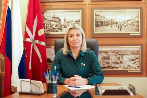 Глава Тулы Ольга Слюсарева