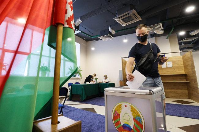 Белоруссия выборы