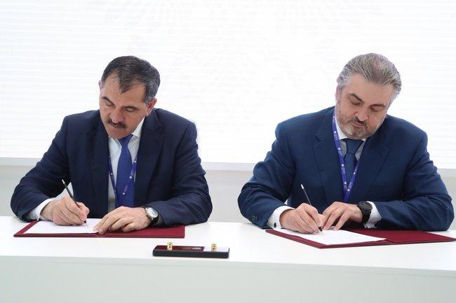 Подписание соглашение о сотрудничестве с банком