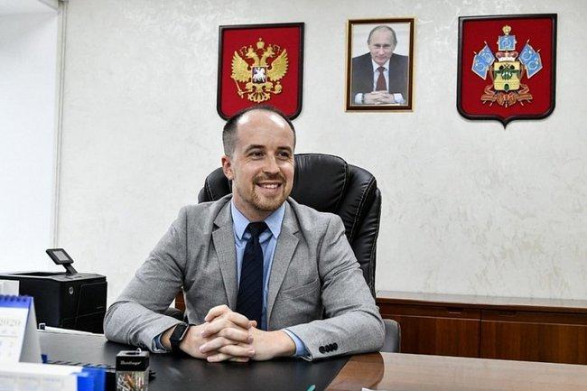 Министр физической культуры и спорта Краснодарского края Алексей Чернов