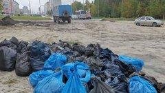 Добровольцы убрали мусор на 13 километрах Куршской косы