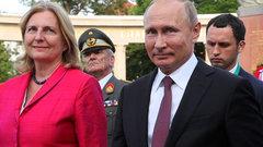 Кнайсль «отправили» вотставку заприглашение Путина насвадьбу
