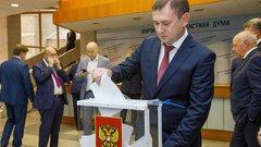 Владимира Нетёсова единогласно избрали председателем Воронежской областной Думы VII созыва
