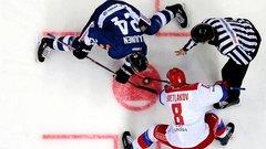 Российская сборная по хоккею разгромила команду Белоруссии на ЧМ