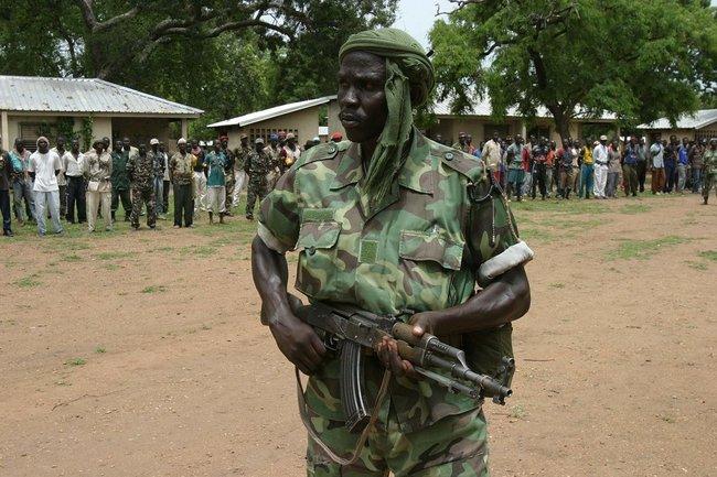 Вооружённый повстанец. Северная часть ЦАР