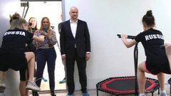 В Ижевске открыли зал по джампингу на базе спортшколы «Нефтяник»