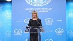 Захарова: Россия выстроит отношения с Украиной по принципу зеркала