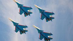В День города Новороссийска «Русские Витязи» покажут фигуры высшего пилотажа
