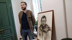 Художник Алексей Крюков рассказал, как писал картины в Донбассе
