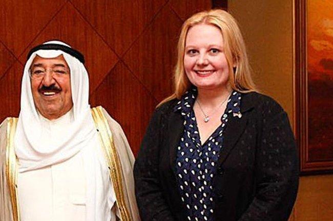 До своего ареста Мария Лазарева спокойно общалась с эмиром Кувейта Сабахом аль-Ахмед аль-Джабер ас-Сабахом