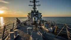Эксперт: американский эсминец в Черное море – политический инструмент