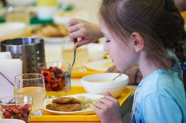 школа столовая еда питание школьник