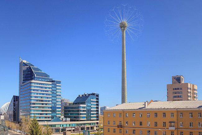 телебашня Екатеринбург