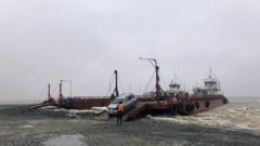 На Ямале изменился режим работы парома через реку Обь