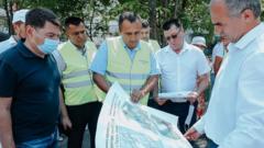 Глава администрации Чебоксар: за качеством работ по благоустройству следим ежедневно