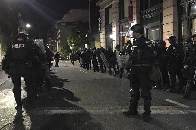 США протест Миннеаполис убийство
