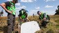 На месте катастрофы рейса MH17