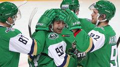 Команда дивизиона Чернышева выиграла Матч звезд КХЛ-2017