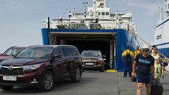 Пассажиропоток через Керченскую переправу достиг 60 тысяч человек в сутки