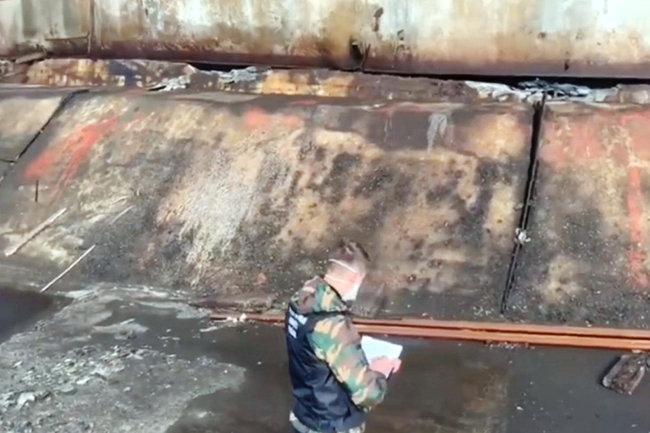Норильск разлив топлива авария утечка