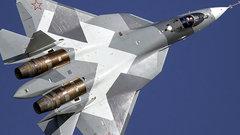 Российский истребитель пятого поколения получил название «Су-57»