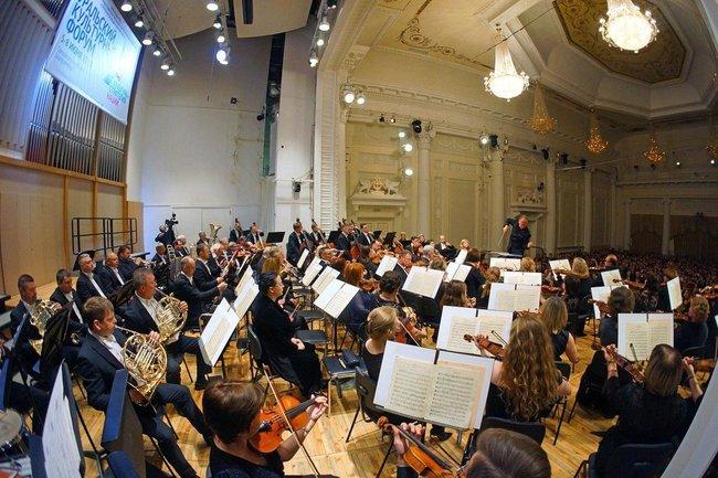 оркестр гастроли