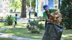 Более 1000 кубометров мусора убрали в рамках общегородского субботника