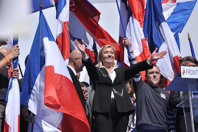 Национальный фронт Марин Ле Пен