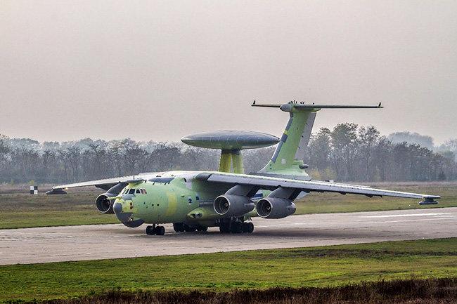 Российский военный комплекс А-100 совершил первый полет