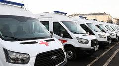 Учреждения здравоохранения Тверской области получили 14 новых машин скорой помощи