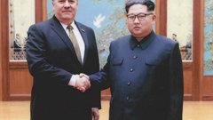 Опубликованы фотографии со встречи Ким Чен Ына и Помпео