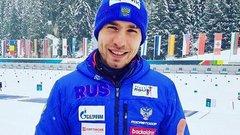 Антон Шипулин выиграл бронзу в гонке преследования на этапе КМ