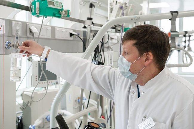 больница госпиталь койка койки врач вирус коронавирус