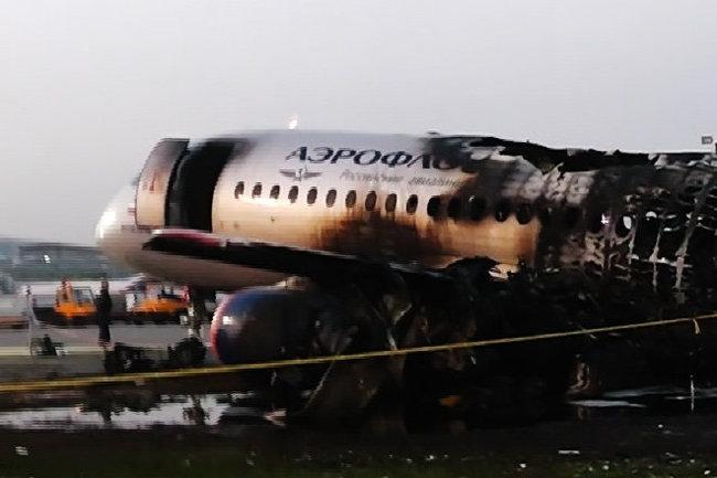 Sukhoi Superjet-100 Шереметьево катастрофа самолет СК Следственный комитет