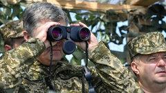 Украинские морпехи не стали менять береты вопреки воле Порошенко