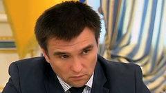 Климкин передумал добиваться санкций против Шредера