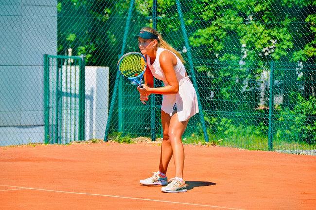 Национальное первенство по теннису.