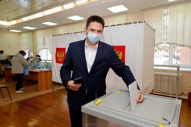 Председатель Парламента Кузбасса Вячеслав Петров