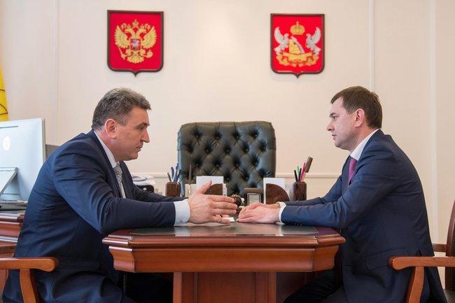 Игорь Мошуров и Владимир Нетёсов