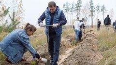 Председатель Воронежской облдумы принял участие в акции «Живи, лес!»