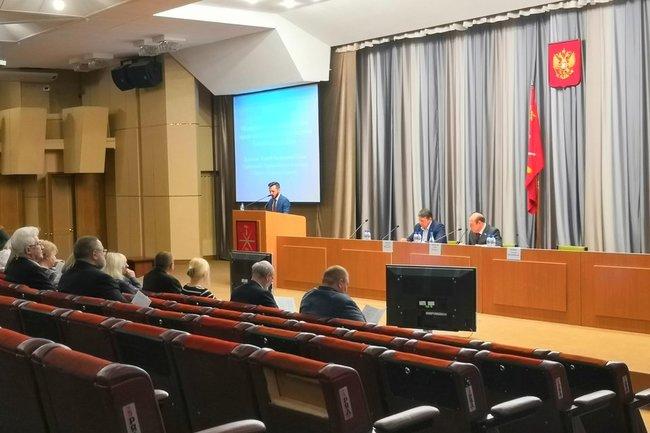 Заседание Тульской городской думы