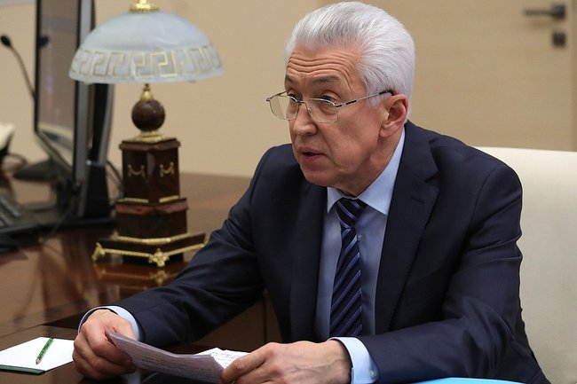 Врио Дагестана Владимир Васильев