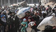 Шойгу сообщил, что беженцы Восточной Гуты скоро вернутся домой