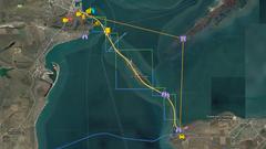 Крымский мост появился в Google Maps