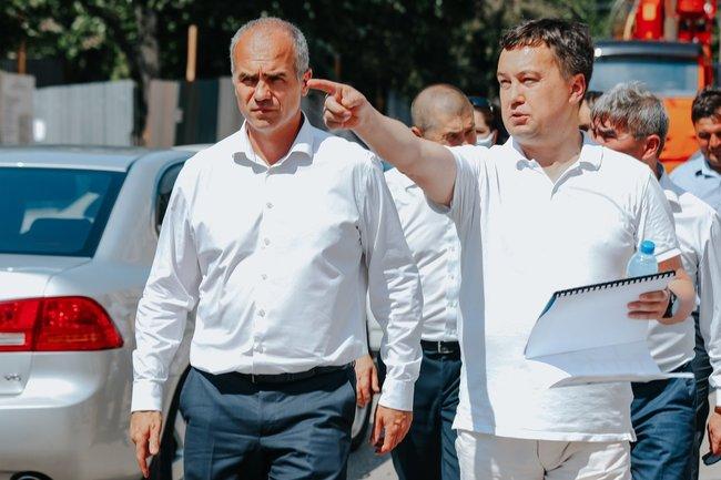 Глава администрации Чебоксар проконтролировал ход благоустройства города