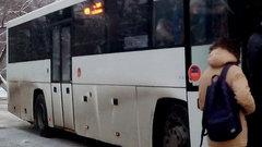 Новосибирская маршрутка №24 изменила схему движения